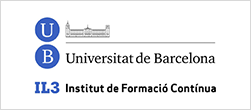 Logotipo Universidad de Barcelona Instituto de formación continua